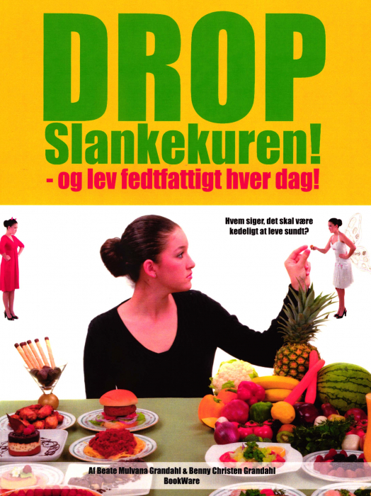 Image of   Drop slankekuren! (Bog)
