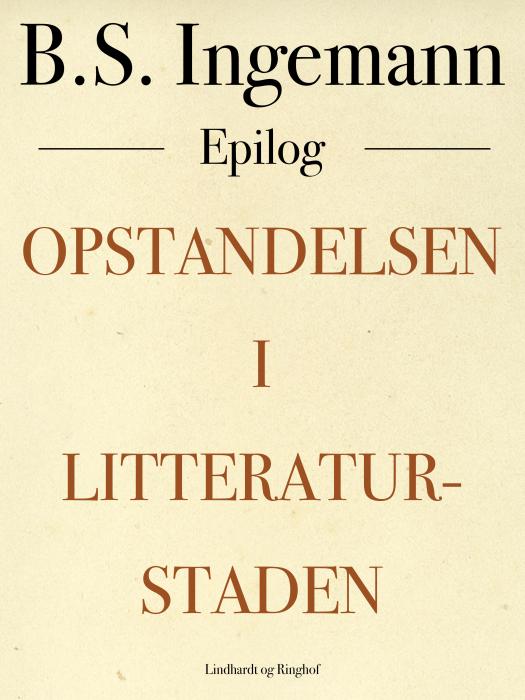 Image of Opstandelsen i Litteraturstaden (E-bog)
