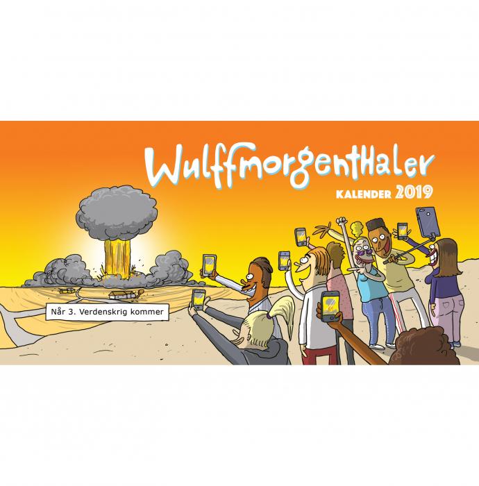Image of Wulffmorgenthaler kalender 2019 (Bog)