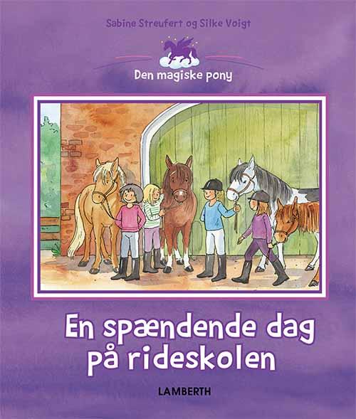 Image of   En spændende dag på rideskolen (Bog)