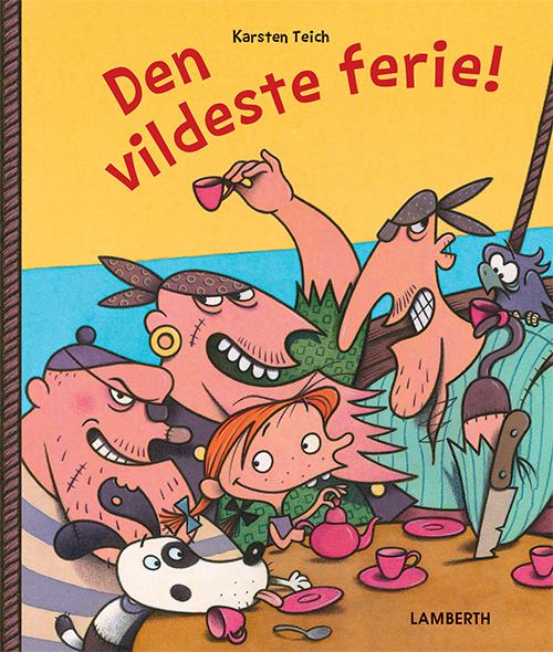 Image of   Den vildeste ferie (Bog)