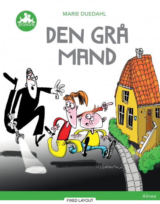 Den grå mand, Grøn Læseklub (E-bog)