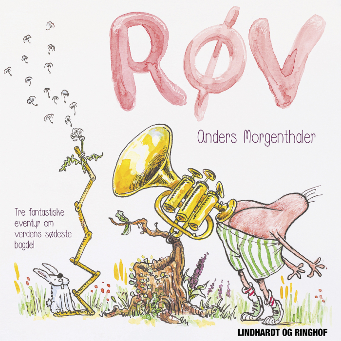 Image of RØV - Tre eventyr om verdens sødeste bagdel (Lydbog)