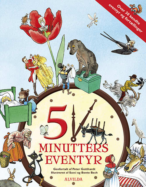 Image of   5 minutters eventyr (over 30 kendte eventyr og fortællinger) (Bog)