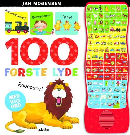 Image of   100 første lyde (med 100 ord) (Bog)