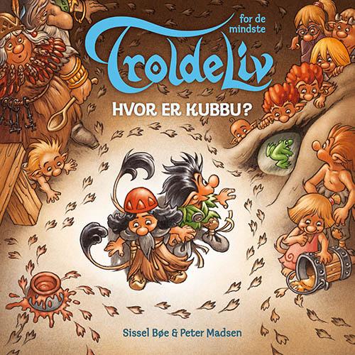 Troldeliv - Hvor er Kubbu? (Papbog med døre og figurer) (Bog)