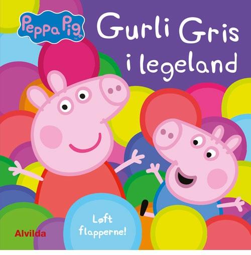 Peppa - Gurli Gris i legeland - Løft flapperne (Bog)