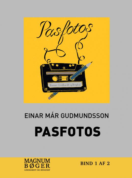 Image of   Pasfotos (storskrift) (Bog)