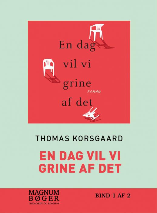 Image of   En dag vil vi grine af det (storskrift) (Bog)
