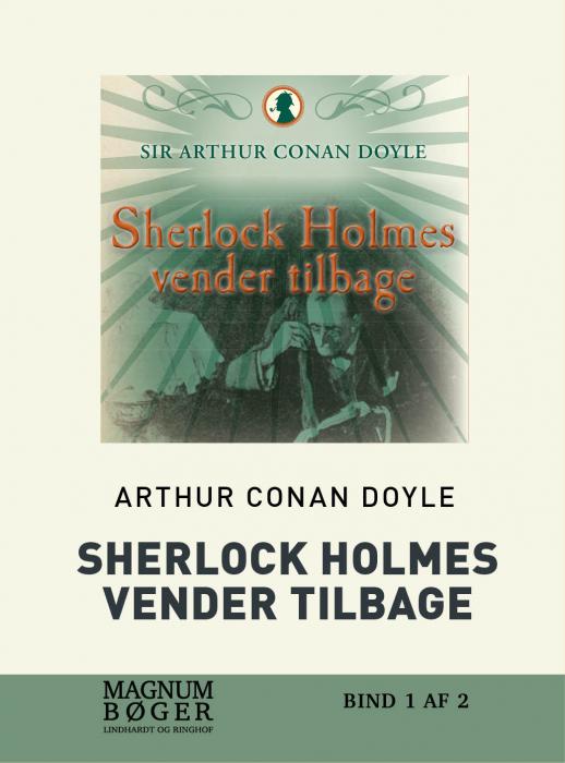 Sherlock Holmes vender tilbage (storskrift) (Bog)