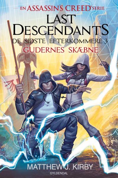 Image of   Assassins Creed - Last Descendants: De sidste efterkommere (3) - Gudernes skæbne (Lydbog)