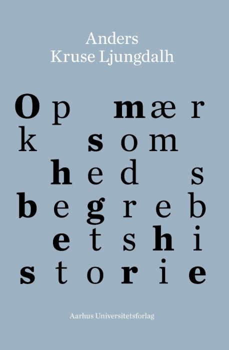Image of Opmærksomhedsbegrebets historie (Bog)