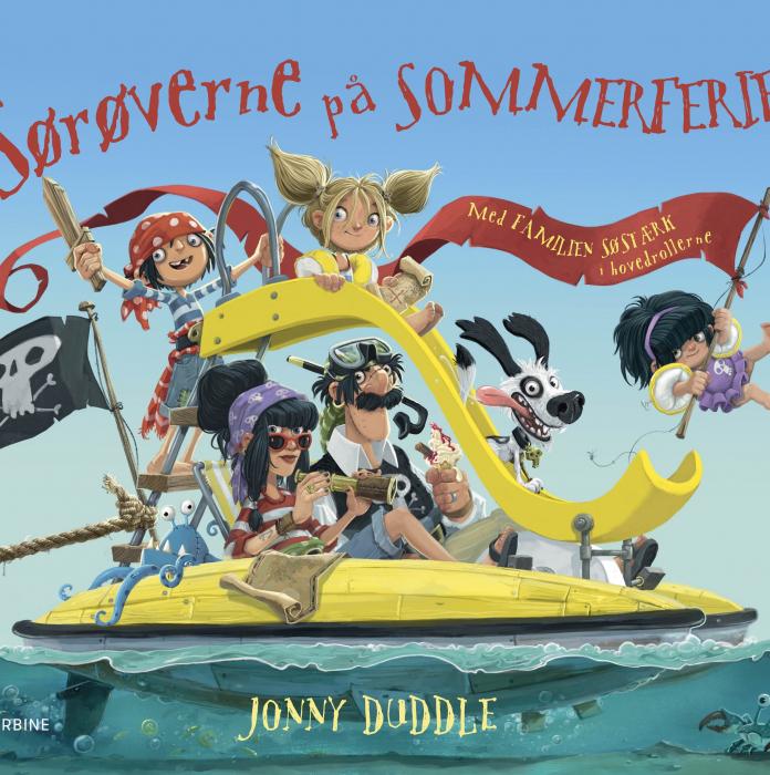 Sørøverne på sommerferie (Bog)