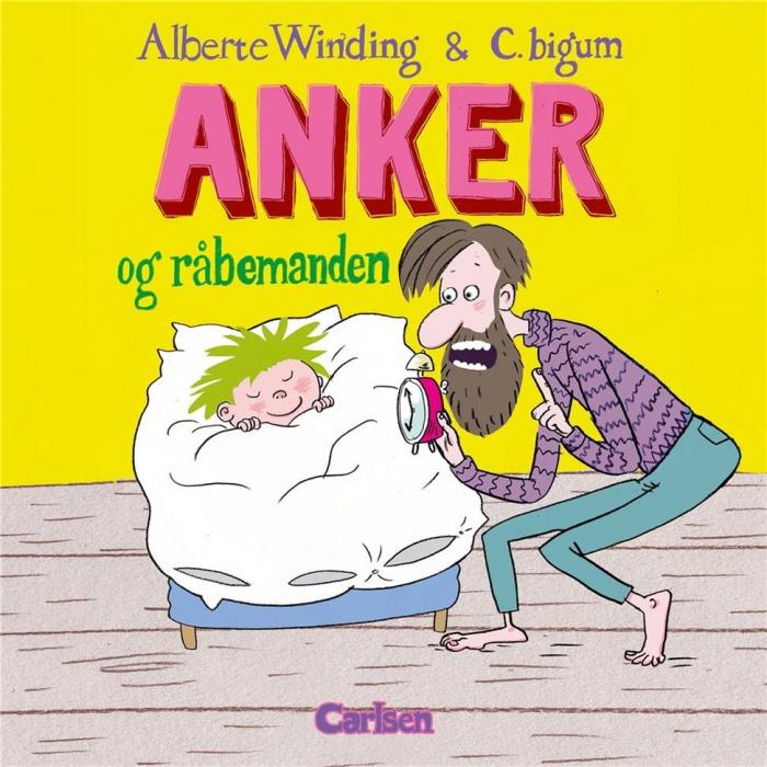 Image of   Anker (1) - Anker og råbemanden (Bog)