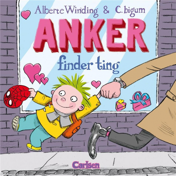 Image of   Anker (2) - Anker finder ting (Bog)