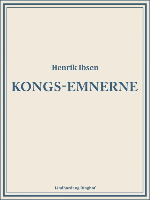 Kongs-emnerne (Bog)