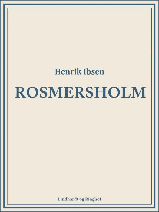 Rosmersholm (Bog)