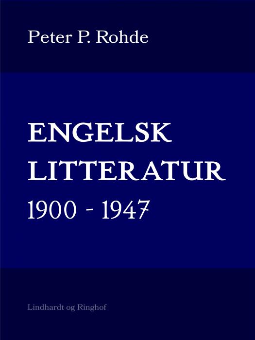 Engelsk litteratur 1900-1947 (Bog)