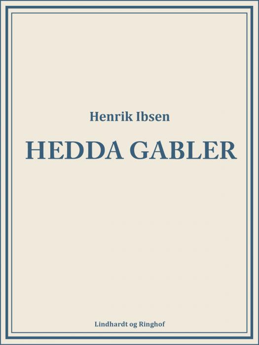 Hedda Gabler (Bog)