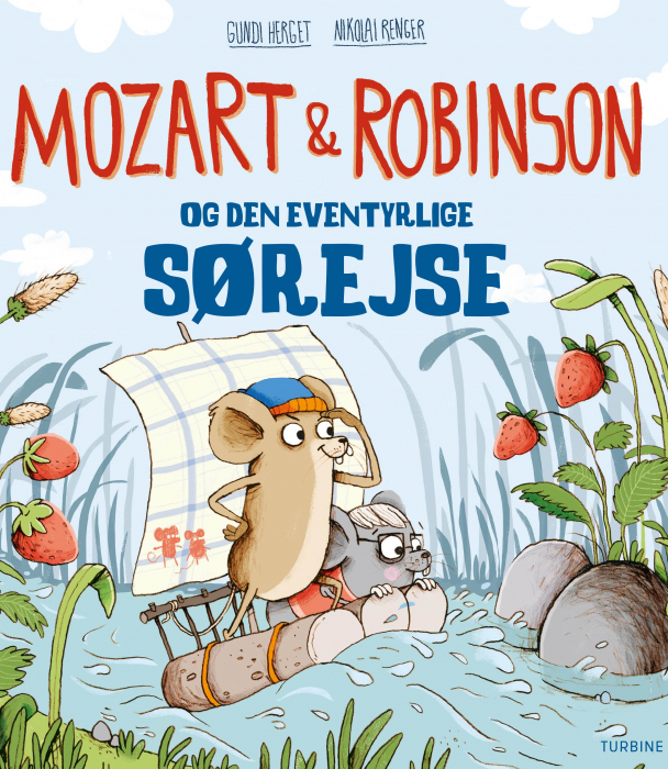 Mozart og Robinson og den eventyrlige sørejse (Bog)