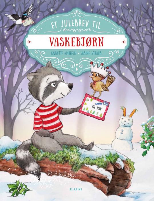Et julebrev til vaskebjørn (Bog)