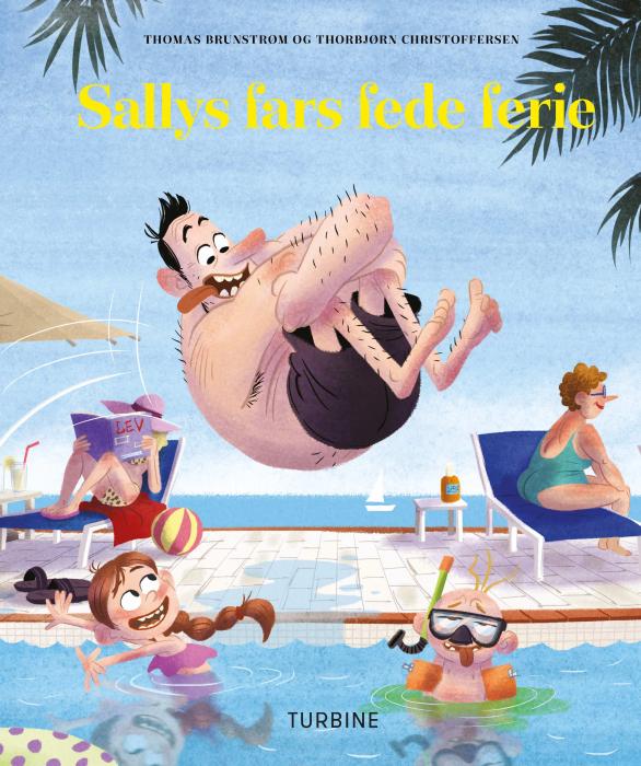Sallys fars fede ferie (Bog)