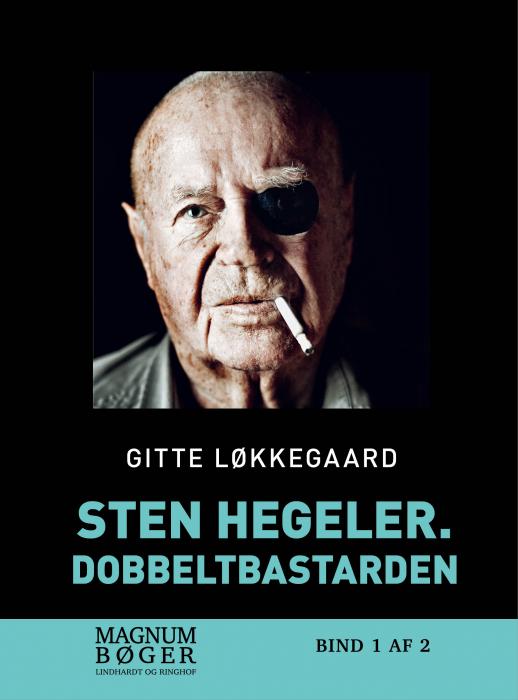 Sten Hegeler. Dobbeltbastarden (storskrift) (Bog)