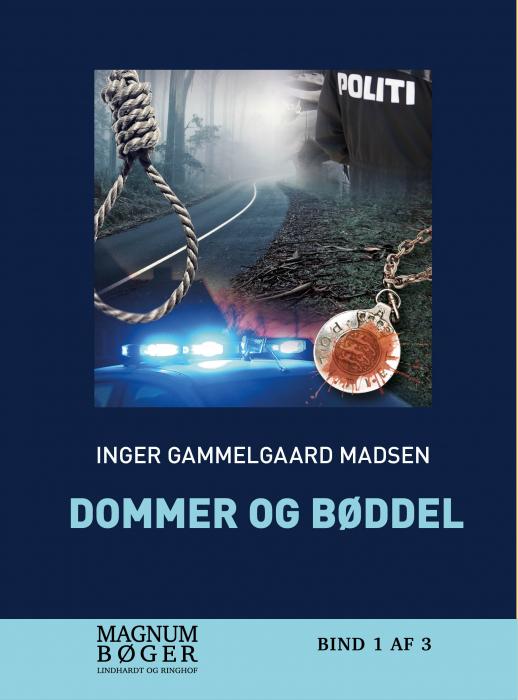 Image of   Dommer og bøddel (storskrift) (Bog)