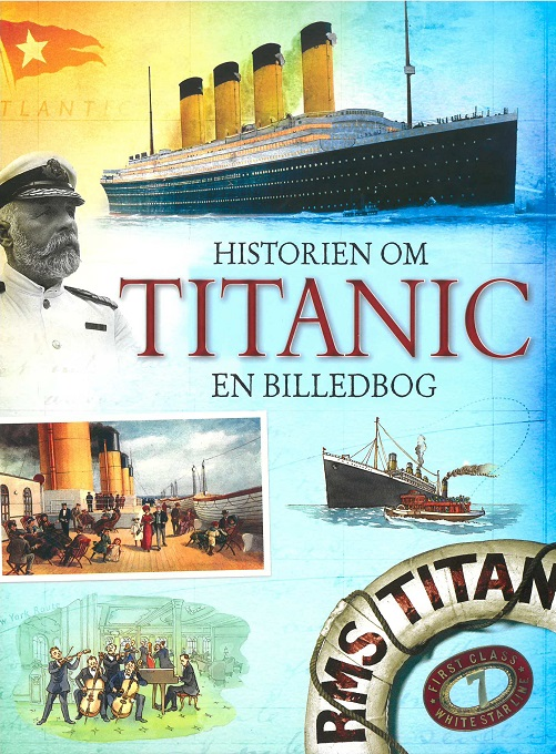 Image of   Historien om Titanic (Bog)