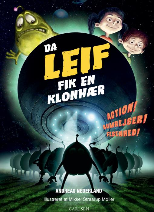 Image of Da Leif fik en klonhær (E-bog)