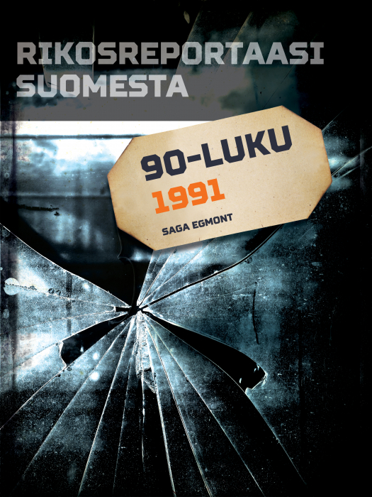 Rikosreportaasi Suomesta 1991 (E-bog)