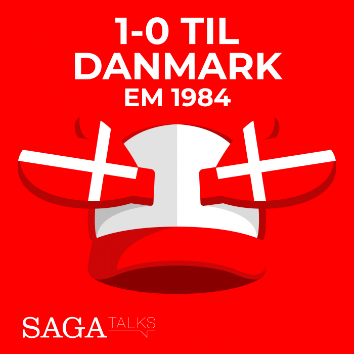Image of   1-0 til Danmark - EM 1984 (E-bog)