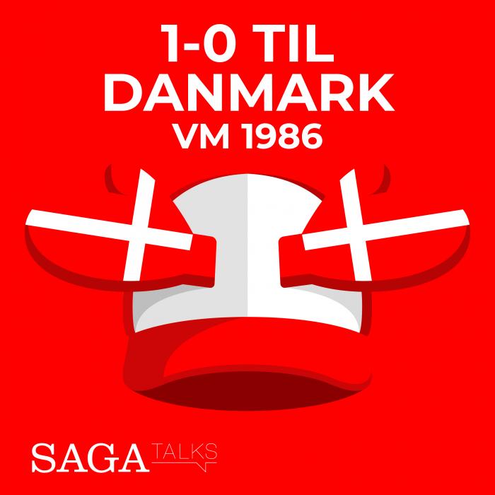 Image of   1-0 til Danmark - VM 1986 (E-bog)