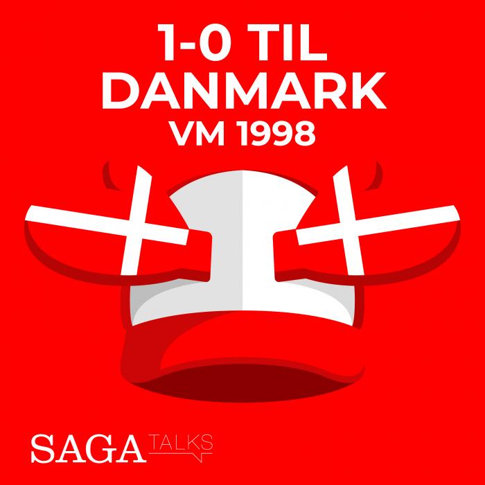 Image of   1-0 til Danmark - VM 1998 (E-bog)