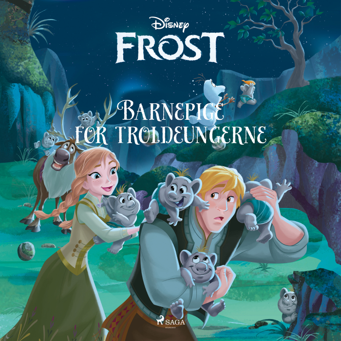 Frost - Barnepige for troldeungerne (Lydbog)