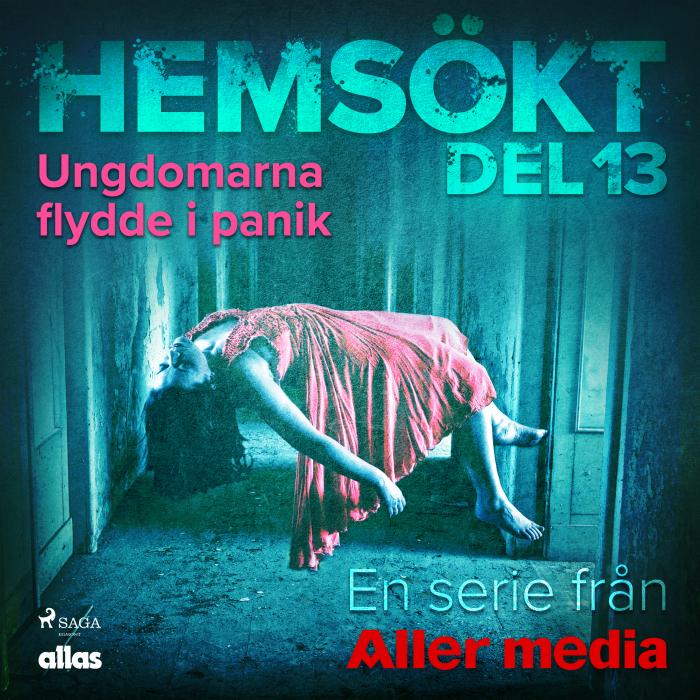 Image of Ungdomarna flydde i panik (Lydbog)