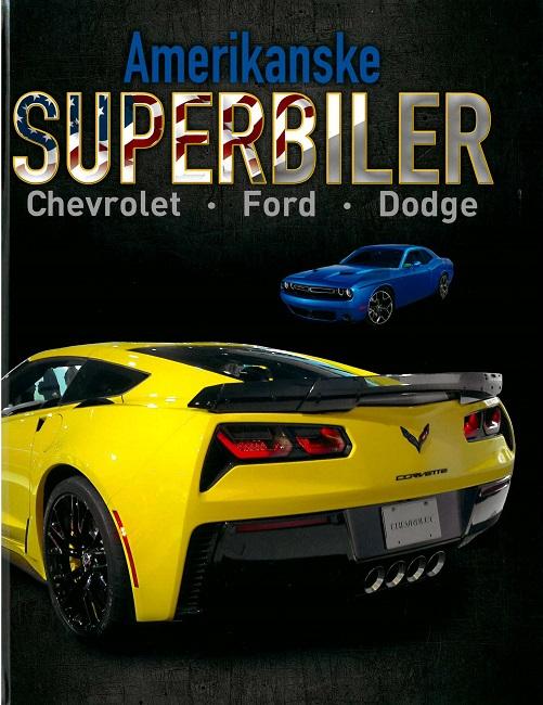 Image of   Amerikanske superbiler (Bog)