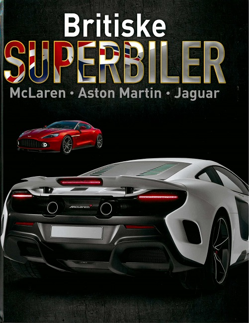 Image of   Britiske superbiler (Bog)