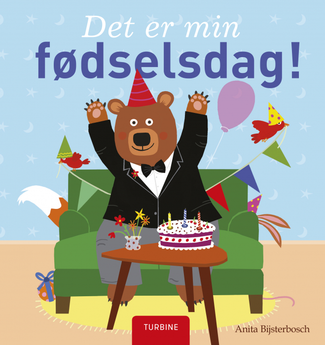 Image of   Det er min fødselsdag! (Bog)
