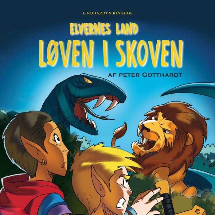 Elvernes land 2: Løven i skoven (Lydbog)