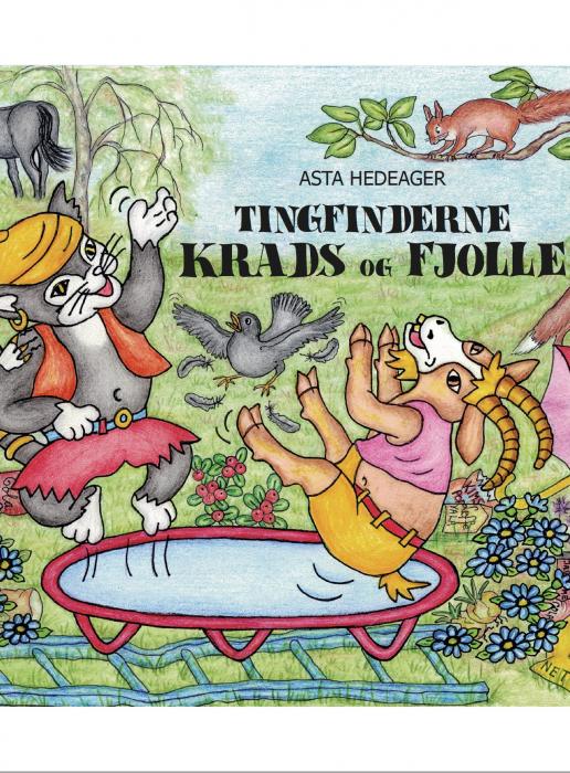Image of Tingfinderne Krads og Fjolle (Bog)