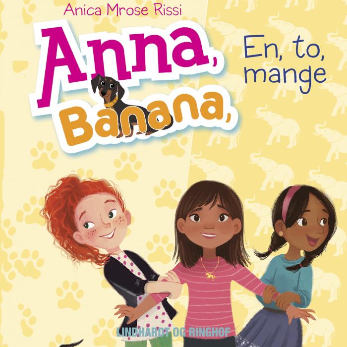 Image of Anna, Banana 2: En, to, mange (Lydbog)