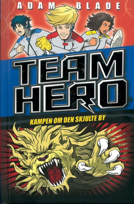 Image of Team Hero (5) Kampen om den skjulte by (Bog)