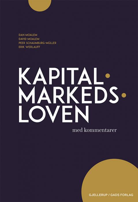 Image of   Kapitalmarkedsloven med kommentarer (E-bog)