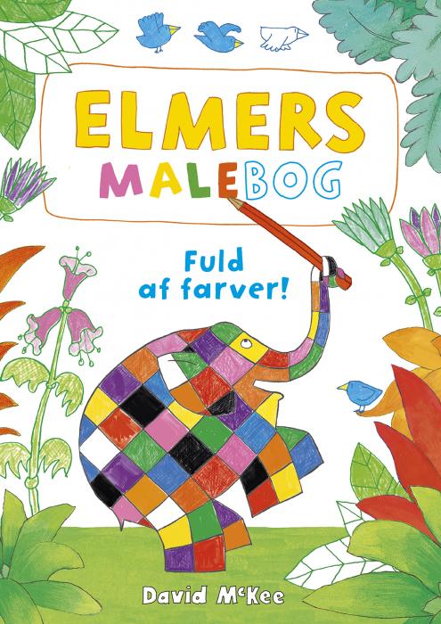 Image of   Elmers malebog (Bog)