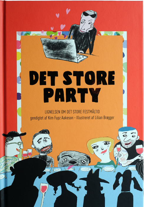 Image of   Det store party (Bog)