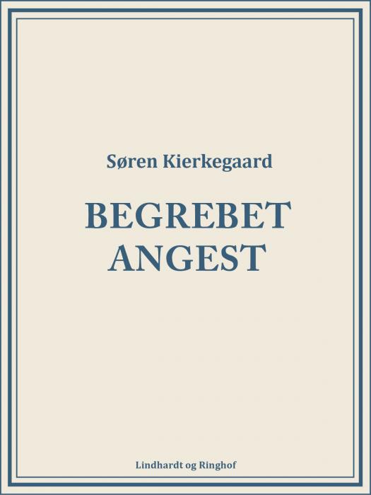 Image of   Begrebet angest (E-bog)