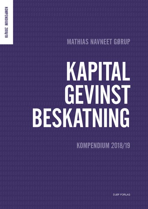 Kapitalgevinstbeskatning (Bog)