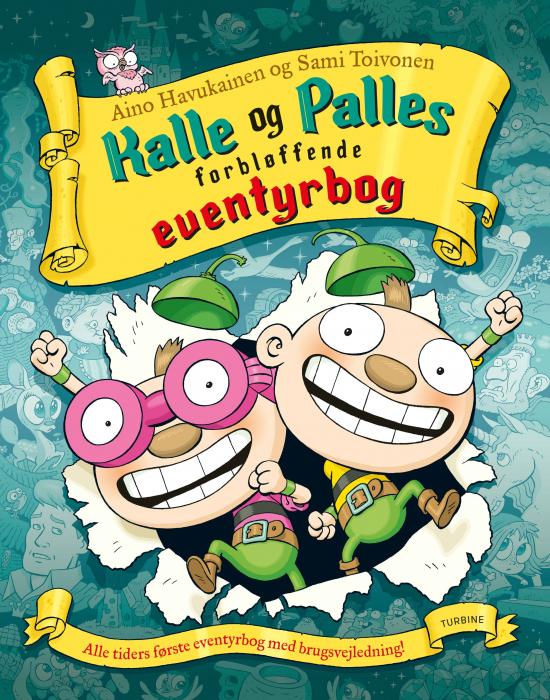 Image of Kalle og Palles forbløffende eventyrbog (Bog)