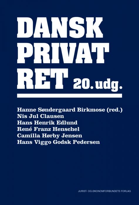 Dansk privatret (Bog)